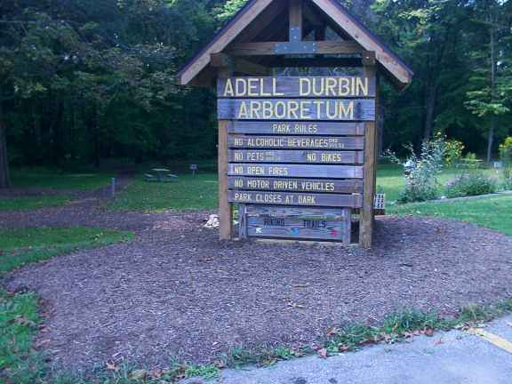 Adell Durbin Park Arboretum Hiking Pictures