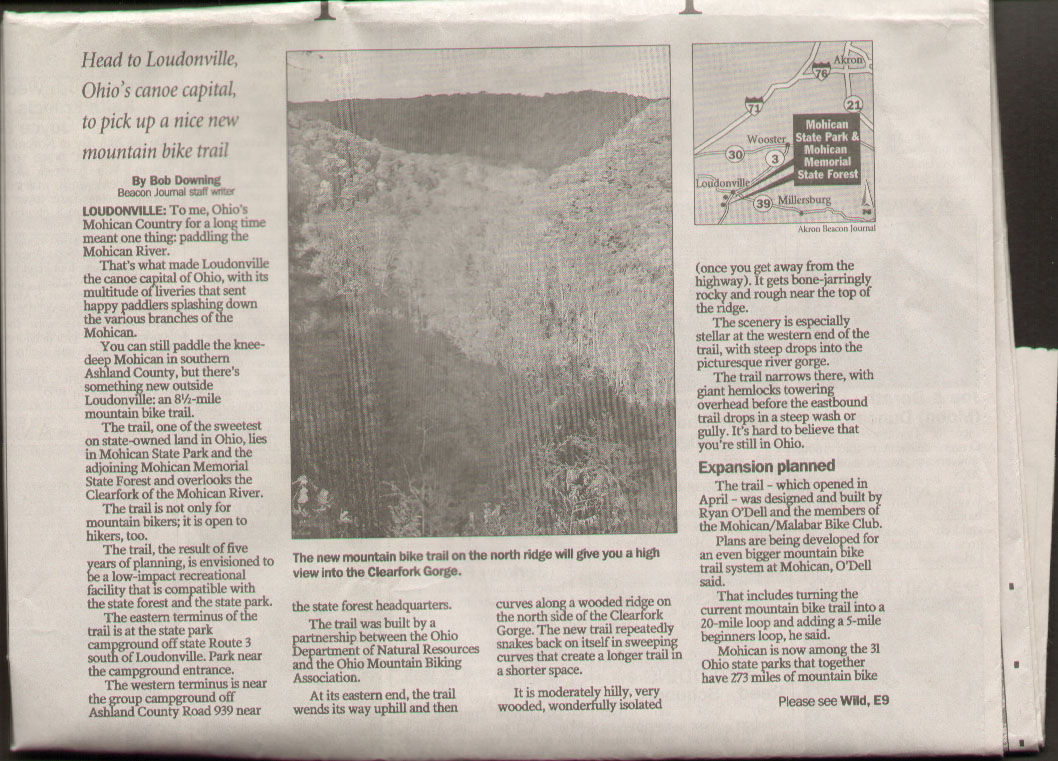 Akron Beacon Journal Mohican State Park Part 1