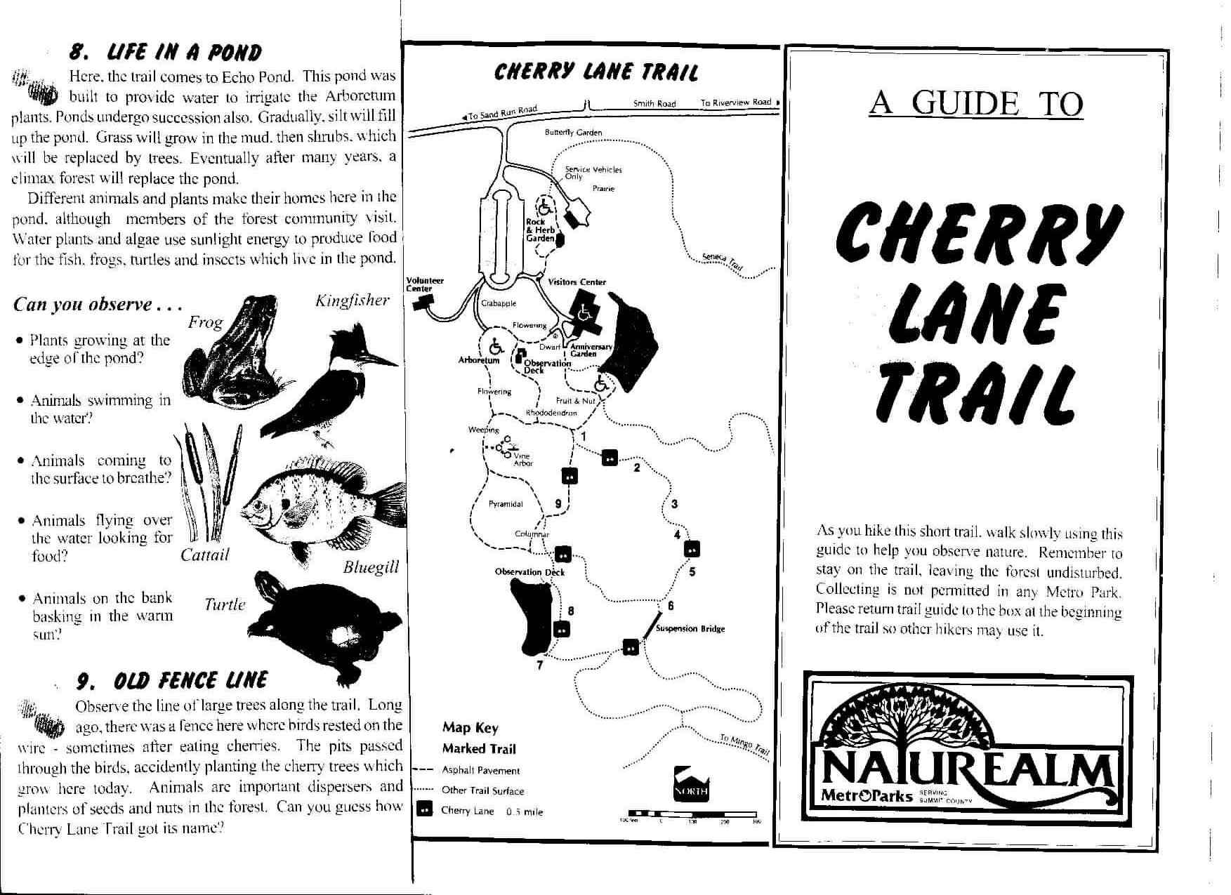 Cherry Lane Trail Brochure 1