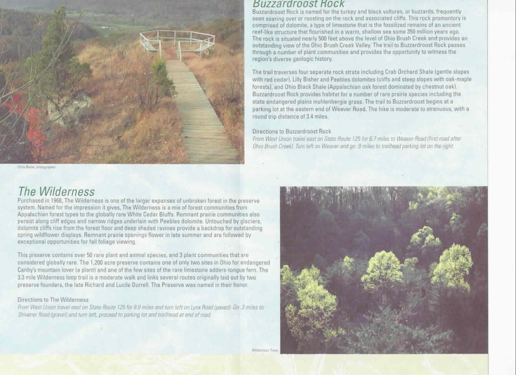 Edge of Appalachia Preserve Brochure 4