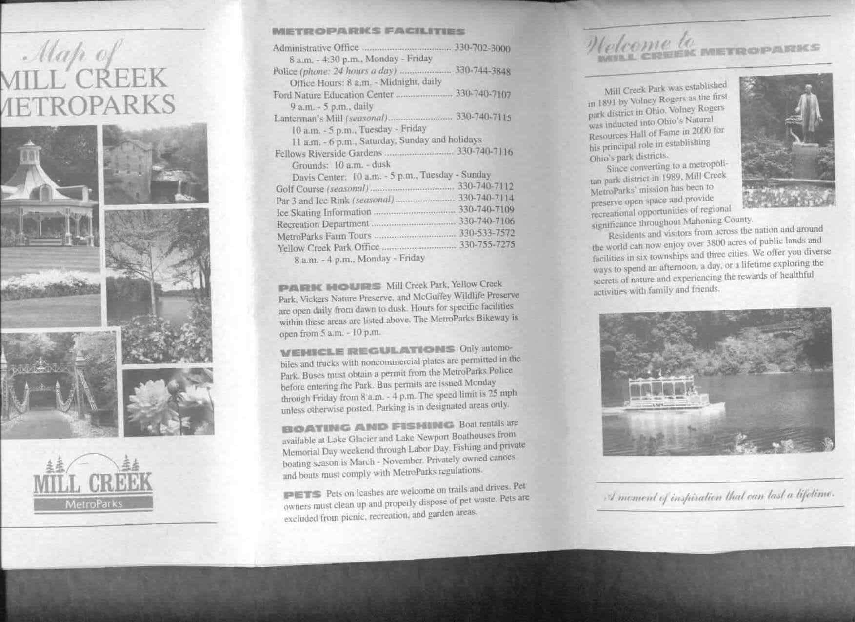 Mill Creek Park Brochure Part 1