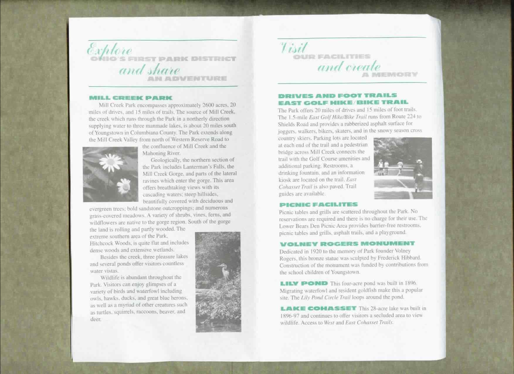 Mill Creek Park Brochure Part 2