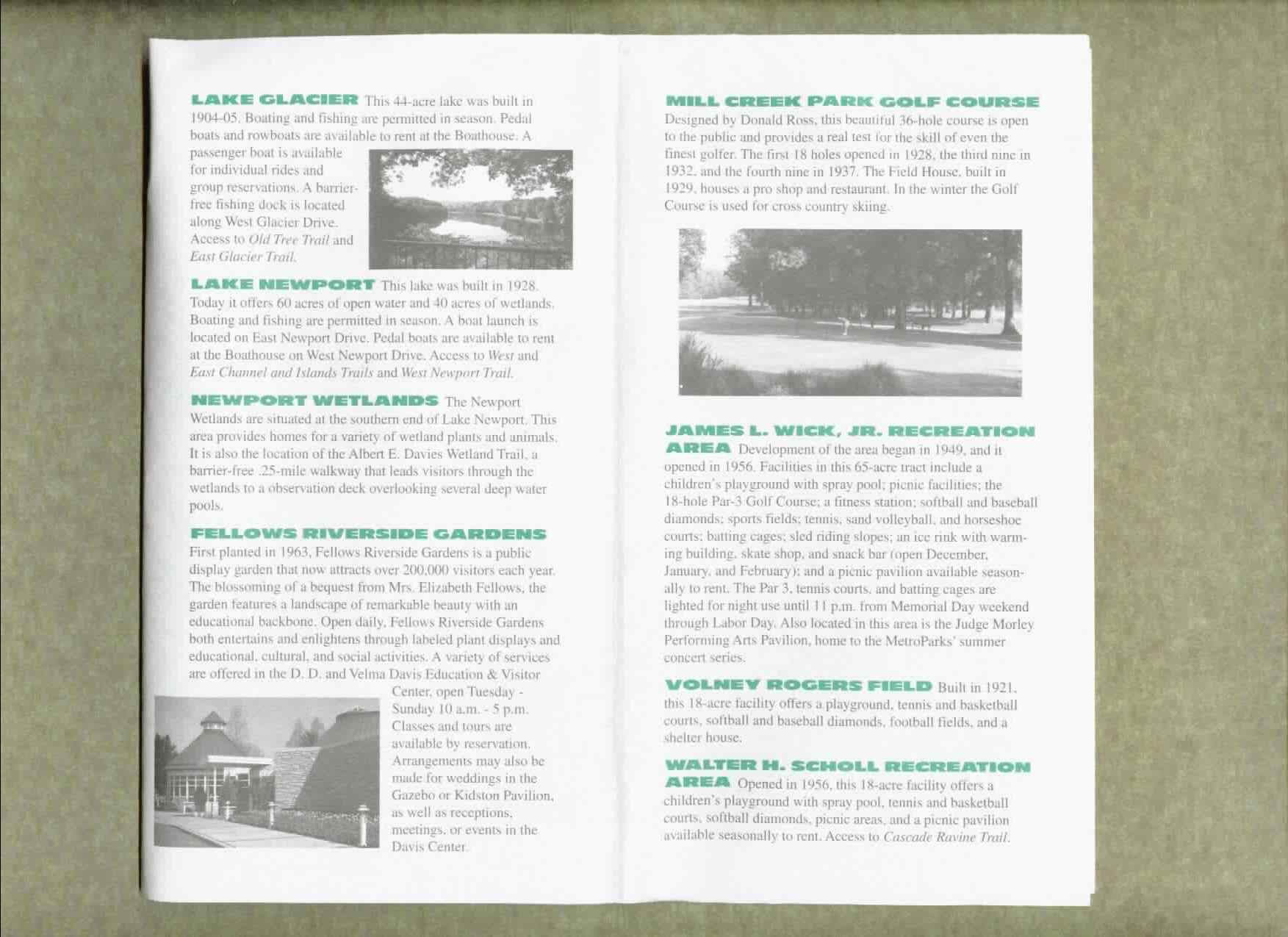 Mill Creek Park Brochure Part 3
