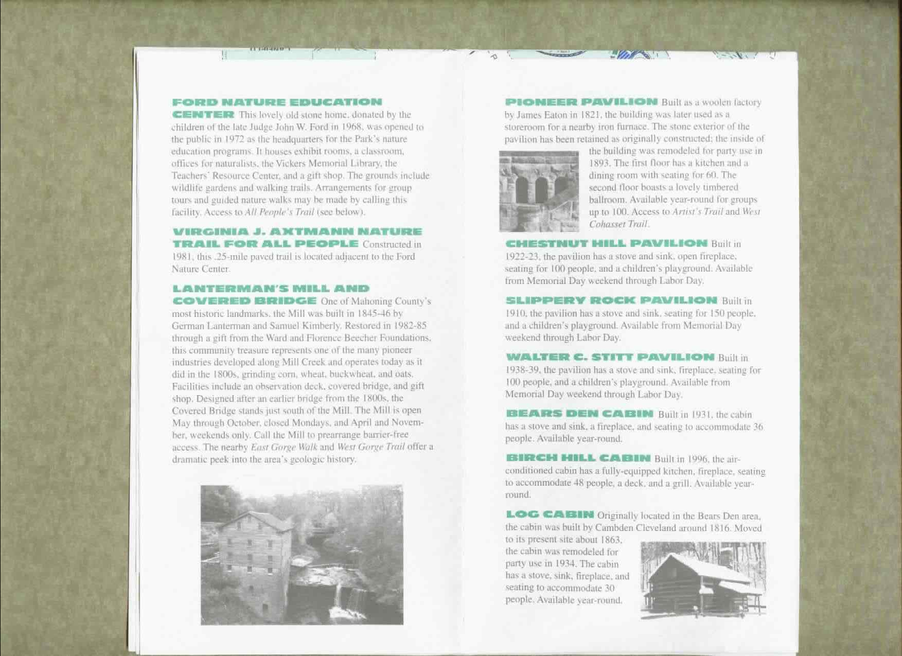 Mill Creek Park Brochure Part 4
