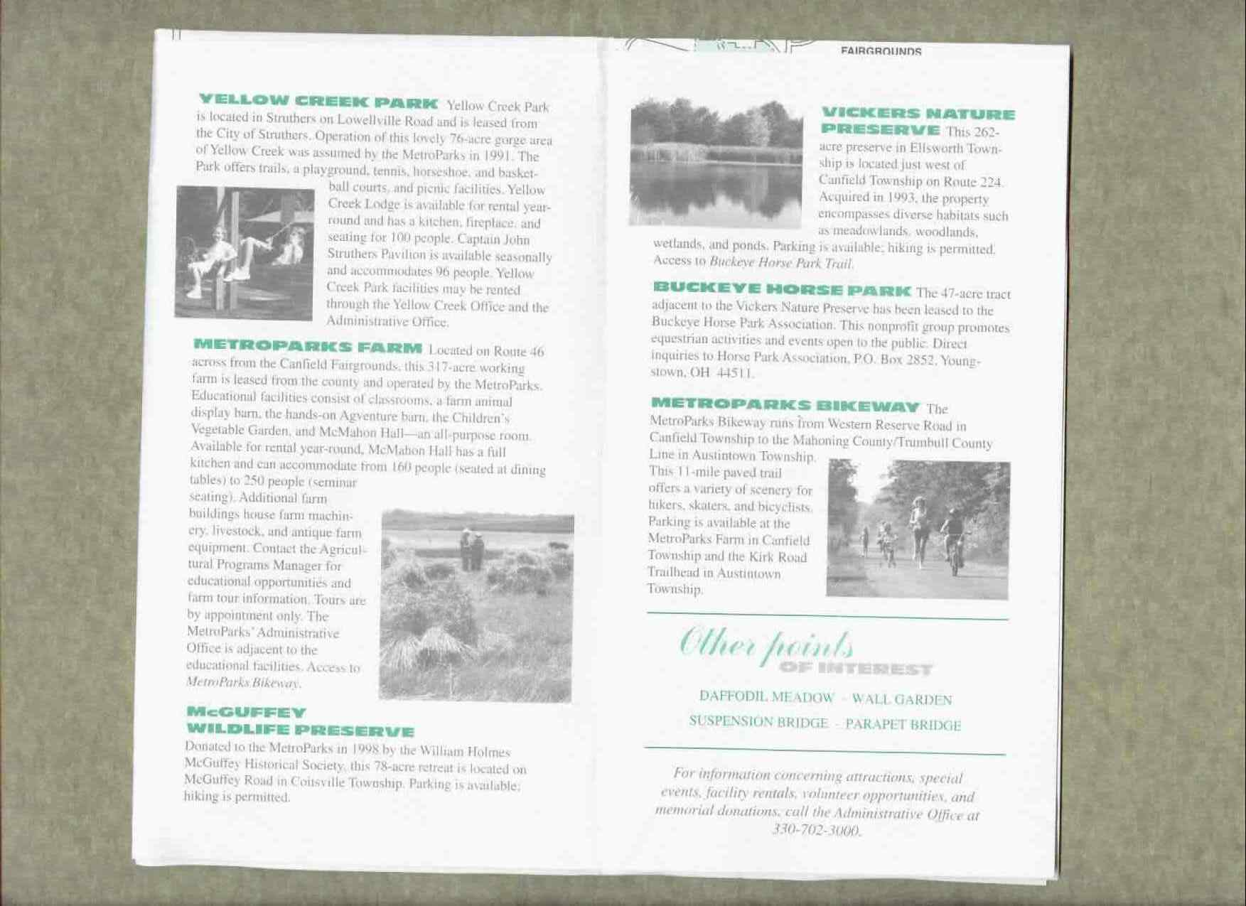 Mill Creek Park Brochure Part 5