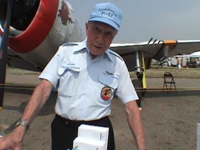 Republic P-47 Thunderbolt Veteran Pilot