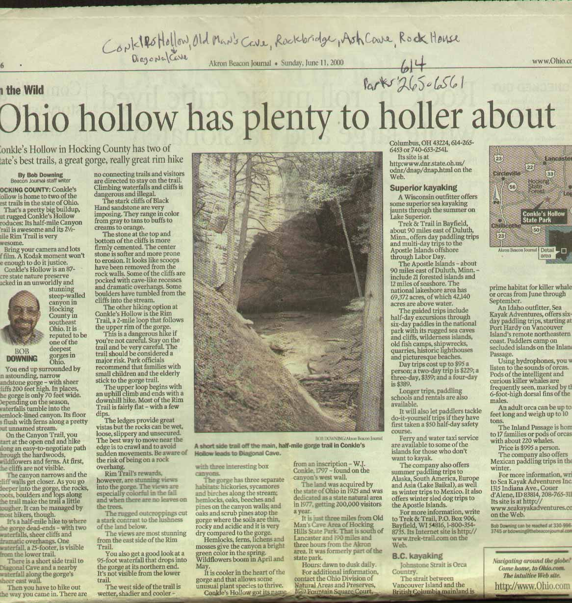 Akron Beacon Journal Hocking Hills State Park 2