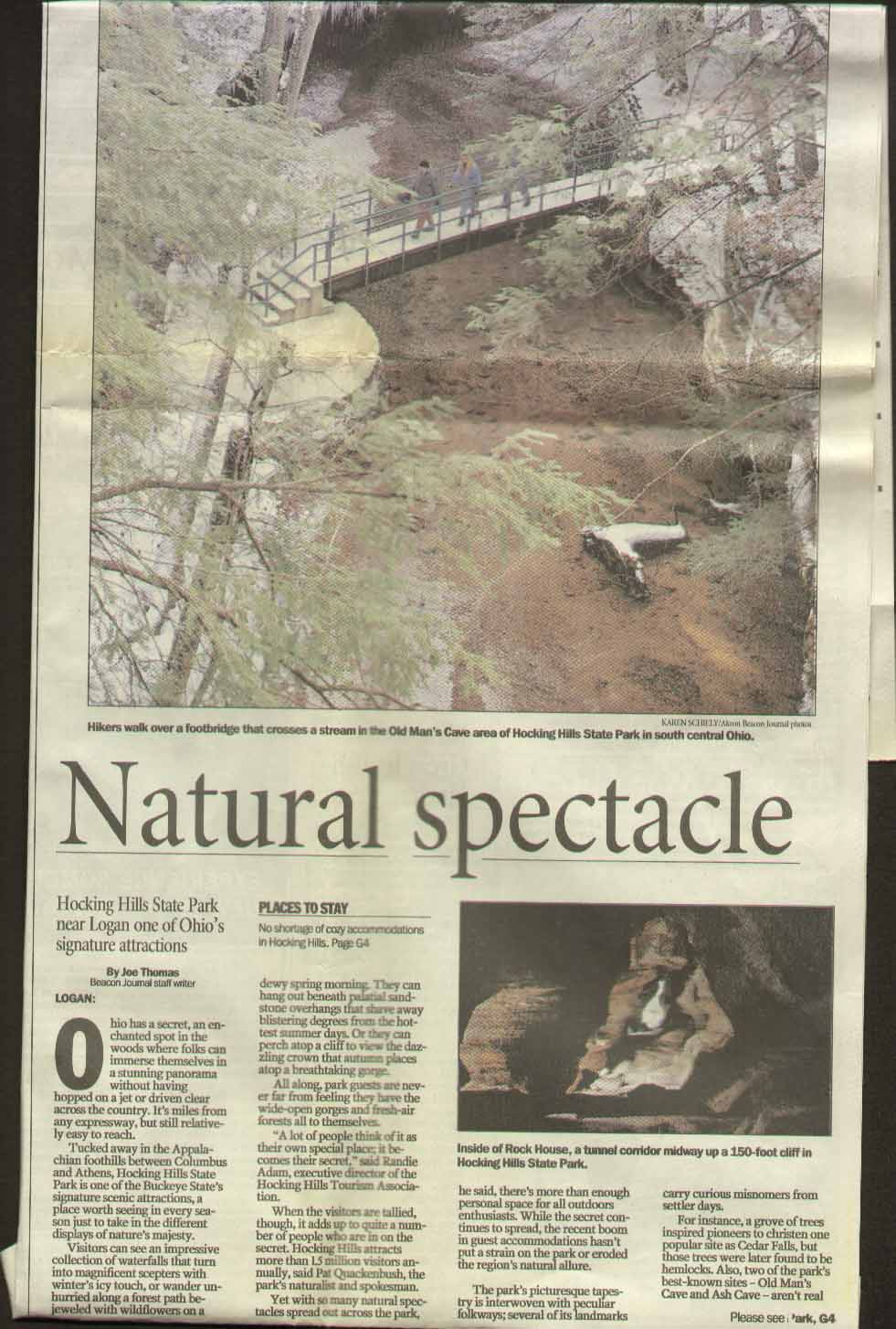Akron Beacon Journal Hocking Hills State Park 1