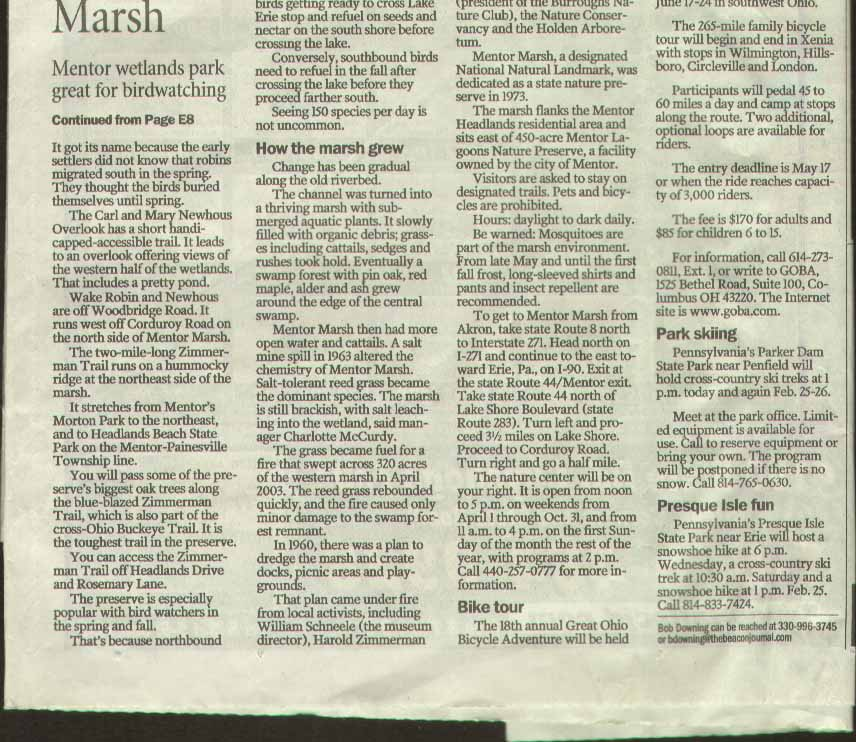 Akron Beacon Journal Mentor Marsh 2