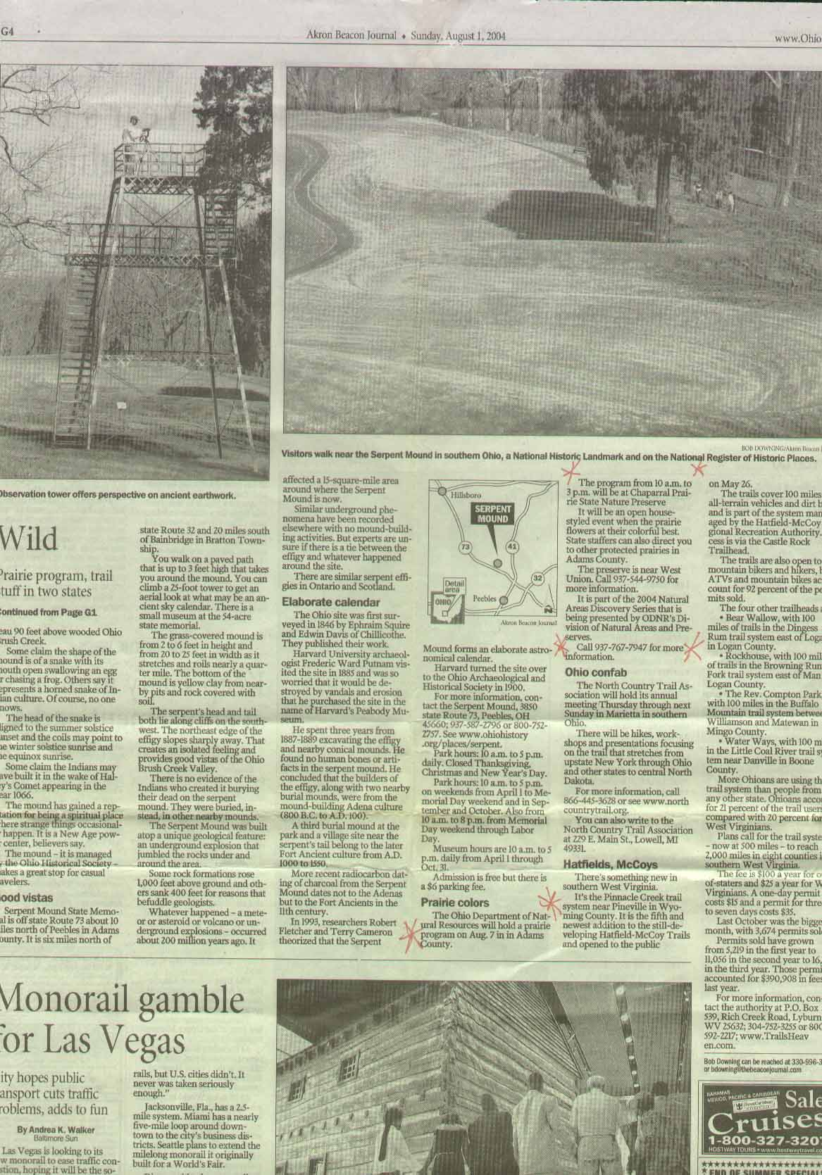 Serpent Mound Park Akron Beacon Journal Part 2