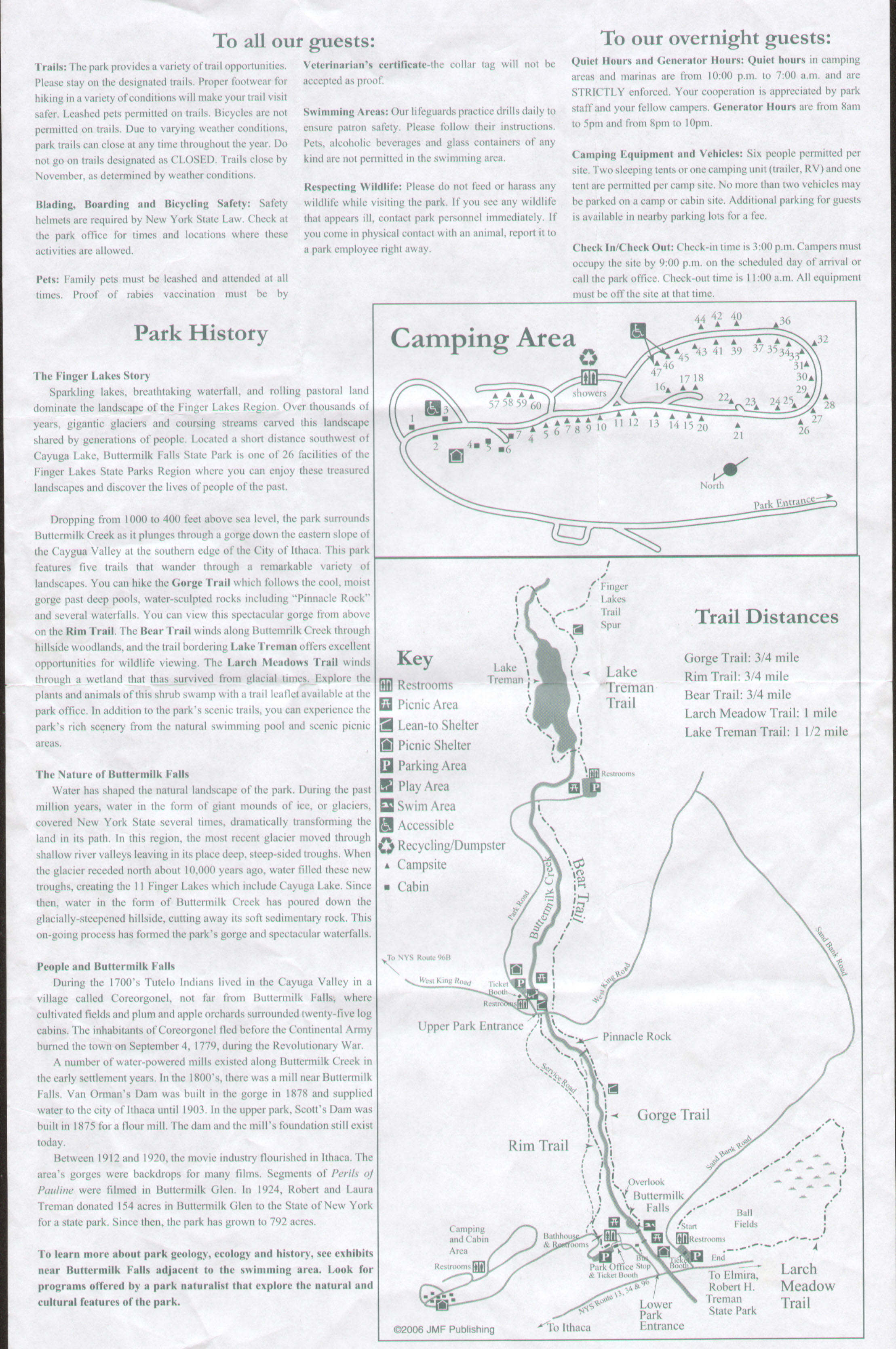 Buttermilk State Park Brochure Part 1