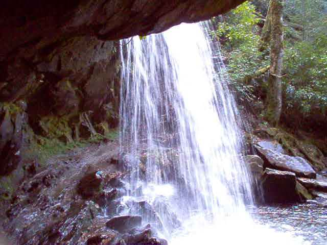 Grotto Falls Picutes and Movie
