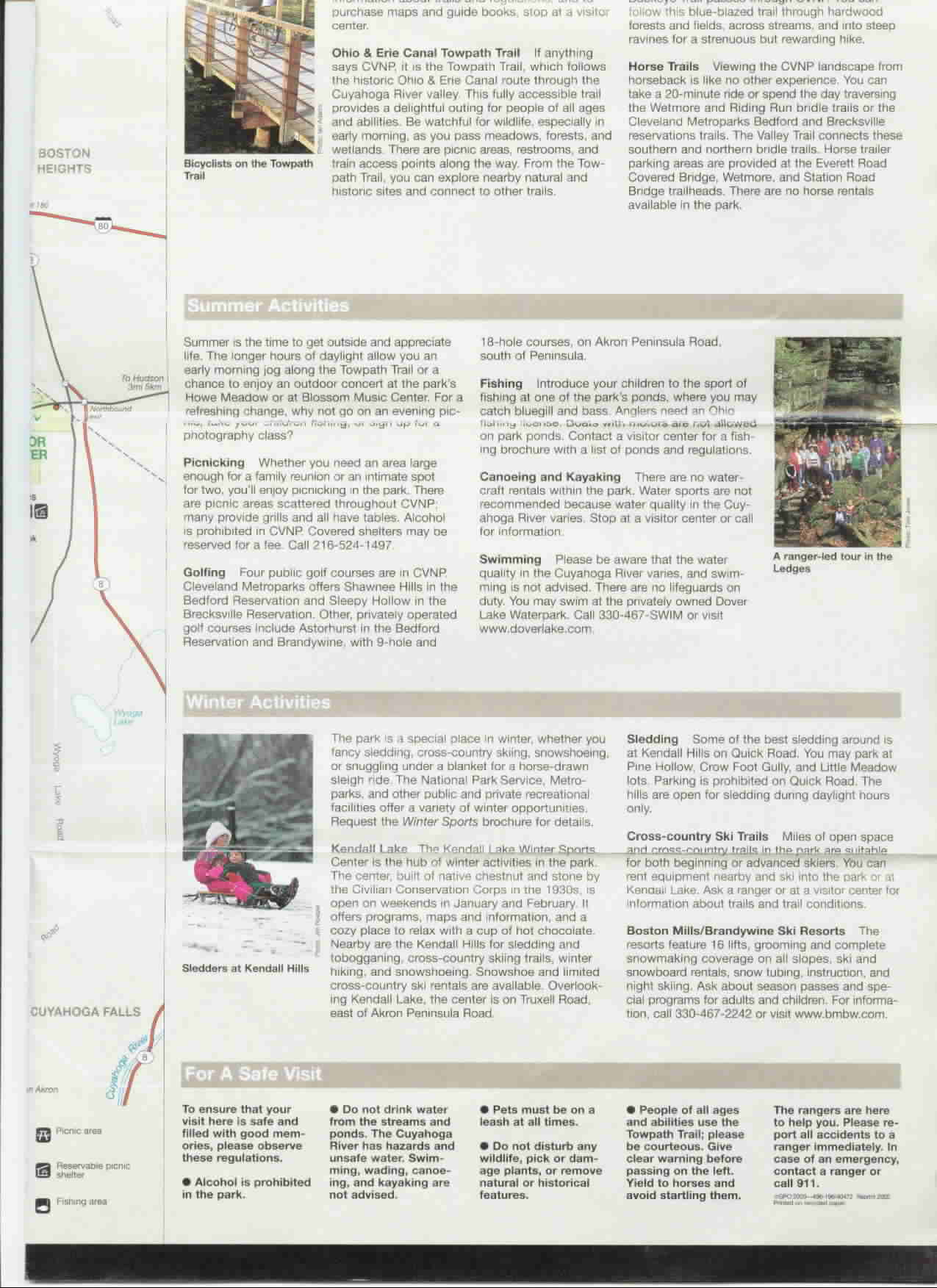 Guide Cuyahoga Valley National Park Part 2