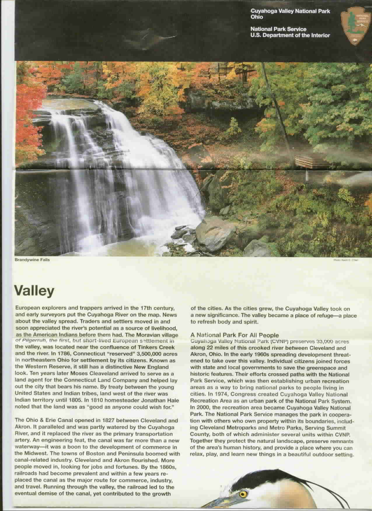 Guide Cuyahoga Valley National Park Page 3