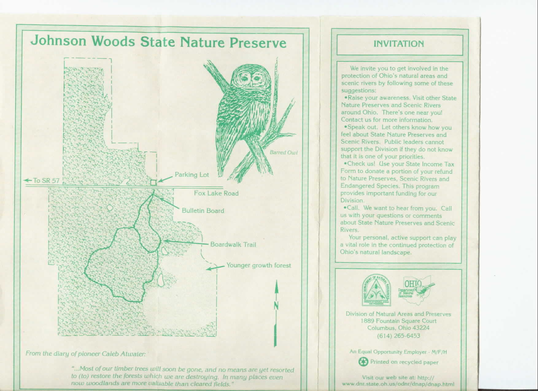 Johnson Woods Information Brochure Part 1