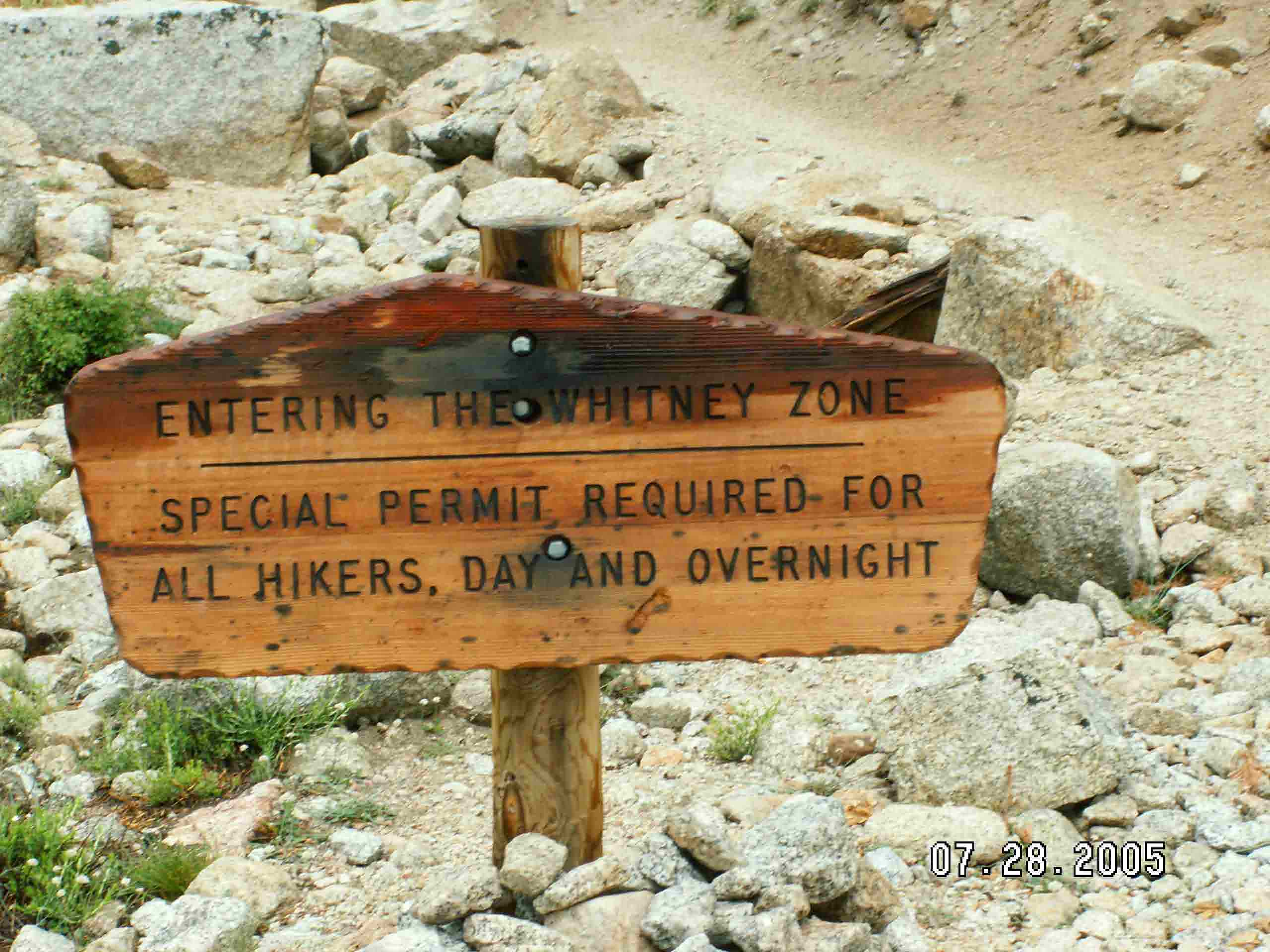 Mount Whitney Hiking Trails Pictures
