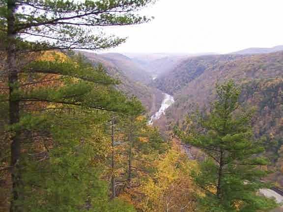Pennsylvania Grand Canyon Pine Creek Gorge Leonard Harrison And