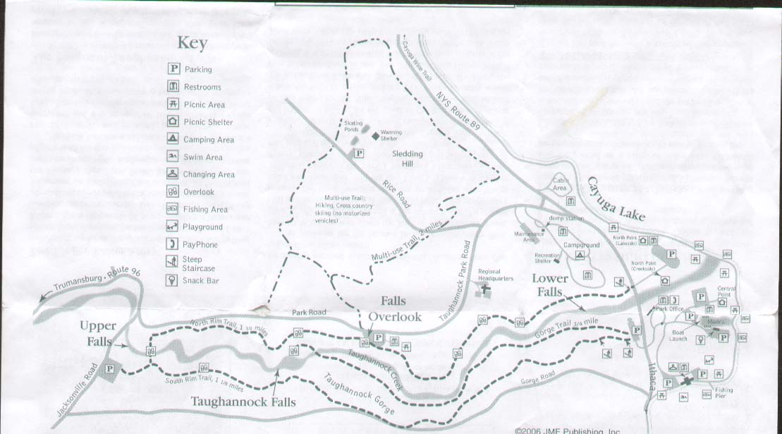 Taughannock Falls State Park Trail Brochure Part 1