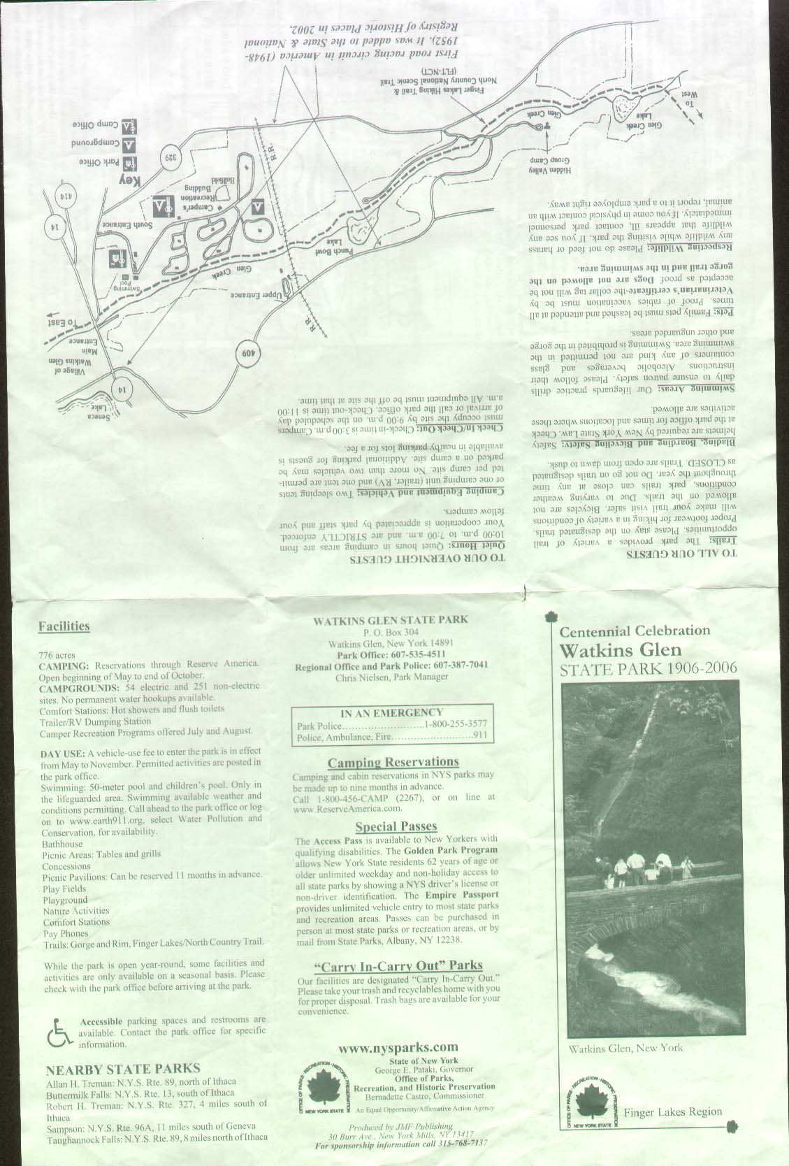 Fillmore Glen State Park Brochure Part 1