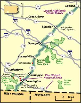 Laurel Highlands Scenic Byway