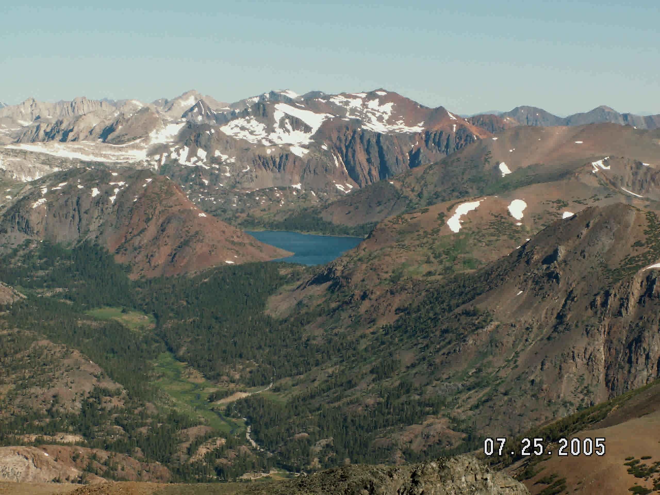 Mount Dana Yosemite Trails Pictures